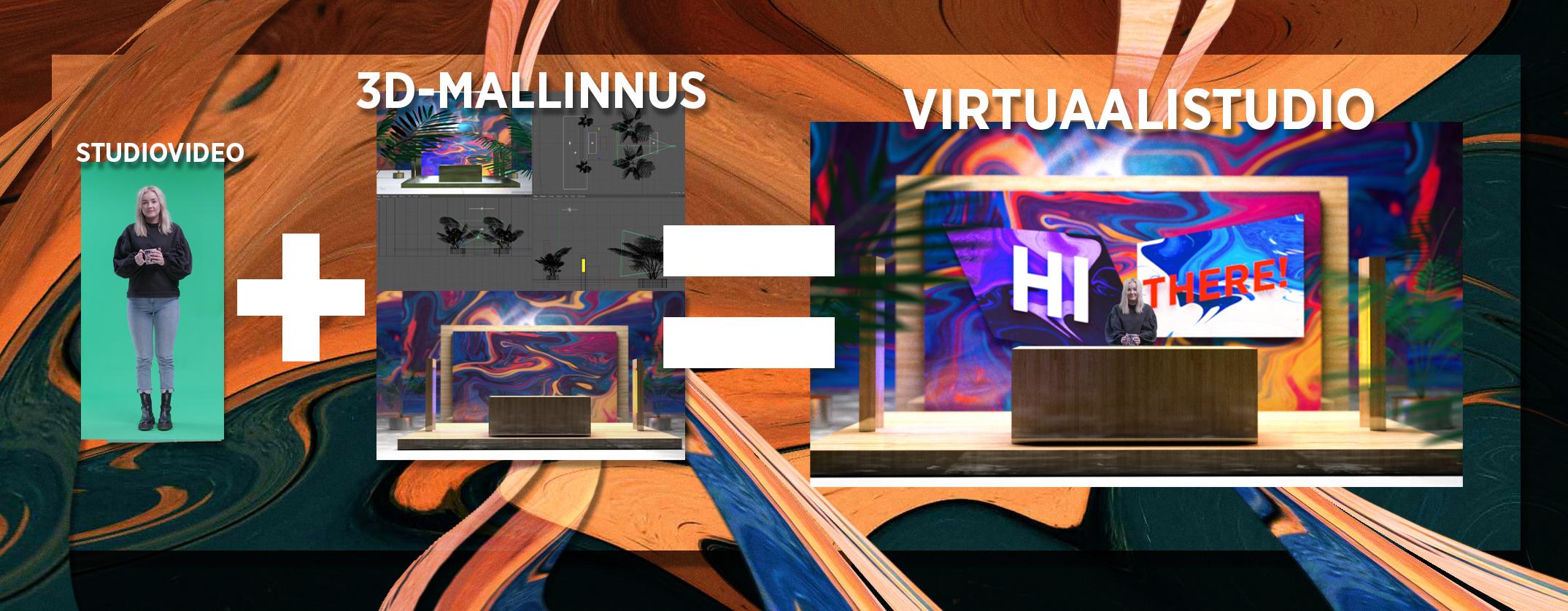 Virtuaalistudiossa kaikki on mahdollista